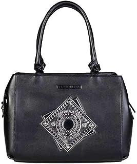 37a14d8cd Versace Jeans E1VQBBA6_75425 Bolso De Mano Para Mujer Cuero Negro