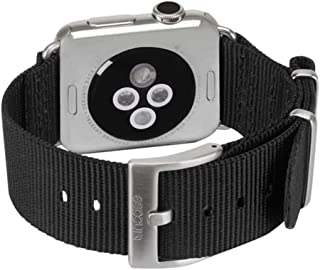 Incase Nylon Nato Band for Apple Watch 42mm (Black - INAW10014-BLK) by Incase Designs