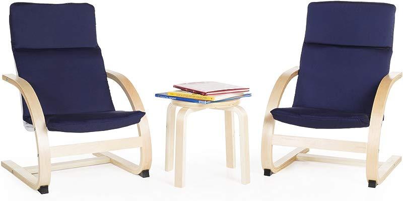Guidecraft Kiddie Rocker Chair Set Blue G6406