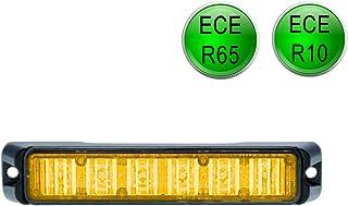LED MARTIN® R65 Freeway Frontblitzer   18W   orange   Schwertransport   Straßenräumer
