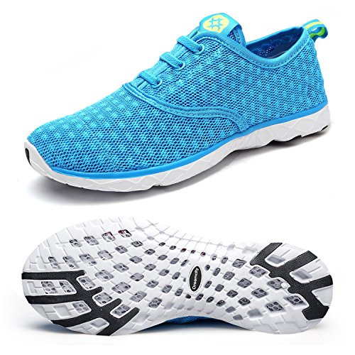 Dreamcity Women#039s Water Shoes Athletic Sport Lightweight Walking Shoes Blue