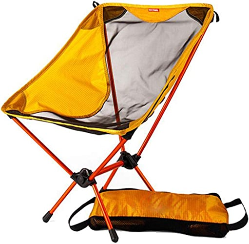 ZYLL Chaise De Lune Pliante Extérieure, Barbecue De Camping Cadre en Métal Pliant Voiture Portable Chaise Simple