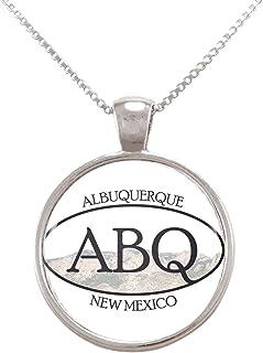 Arthwick Store ABQ Albuquerque New Mexico Pride Sticker Pendant Necklace