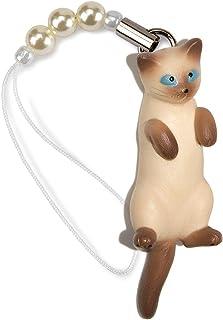 ペットラバーズ 猫どん LadyCat vol.7 シャム ビーズ ストラップ N-2710