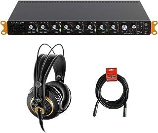 Arturia AudioFuse 8Pre USB-C Audio Interface/ADAT Expander with AKG K 240 Studio Pro Headphones & XLR Cable Bundle