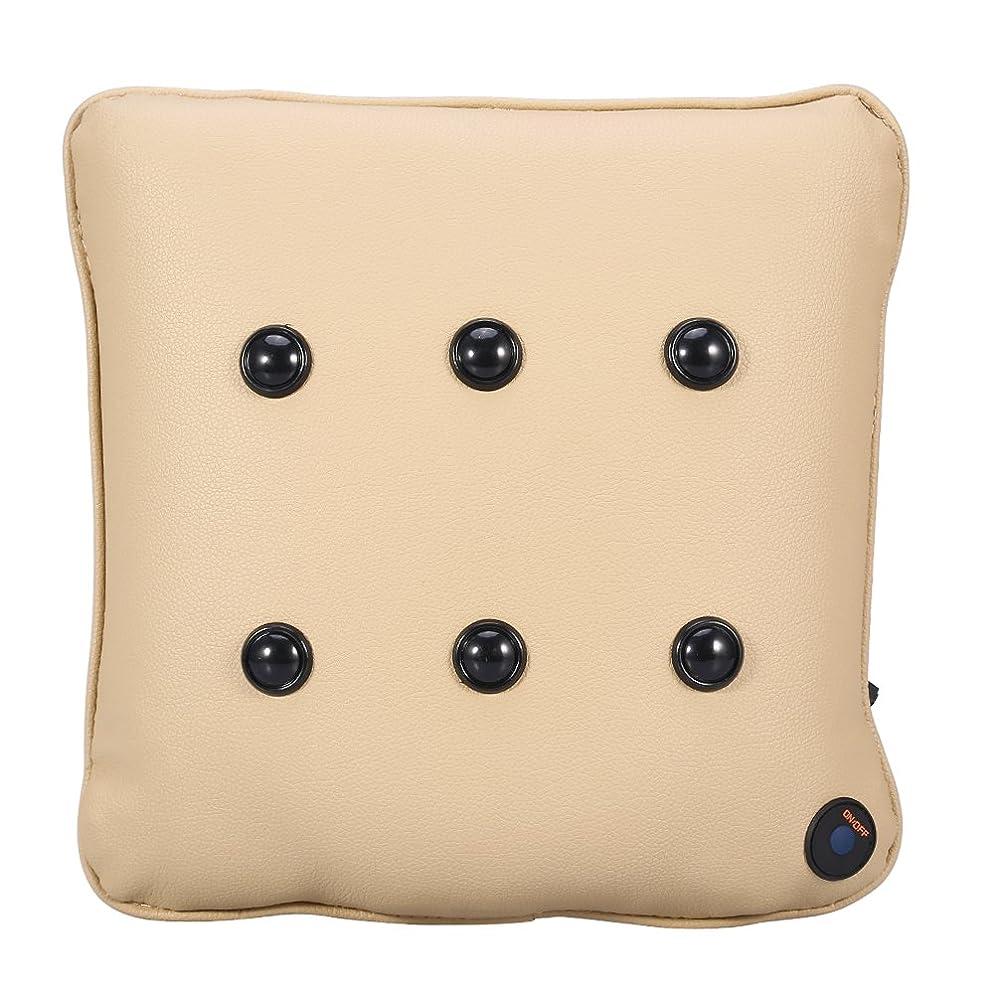 騙す雪のカラスマッサージ枕、4スタイル電気マッサージ枕ソフトコットン車旅行USBネックBackマッサージャークッション Brinocog928gb5s-02