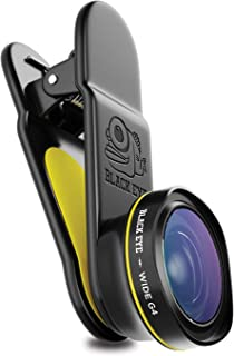 Phone Lenses by Black Eye    Wide G4 Clip-on Lens Compatible with iPhone, iPad, Samsung Galaxy, and All Camera Phone Models