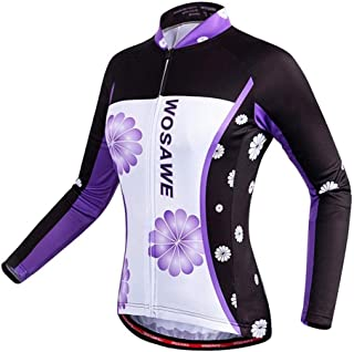 Cycling Skin Suit Summer Women's Long-sleeved Shirt Bicycle Quick-drying Breathable Cycling Moisture Wicking Wear