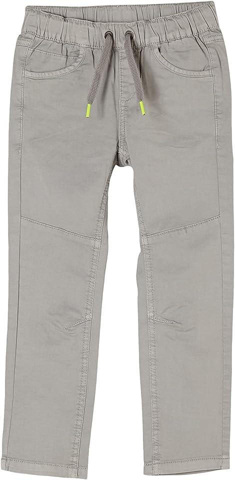 Jungen Slim Fit: Hose aus Baumwolle Light Grey 140.Slim