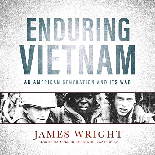 Enduring Vietnam audiobook cover art