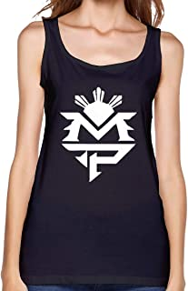 WilmaJMc Women's Manny Pacquiao Tank Top Cool T-Shirt