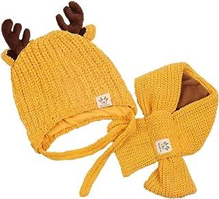 YICANG Orecchie di Coniglio Neonato Cappelli Cappello da Bambino in Cotone Beanie Hat Cappello da Ospedale per Unisex 0-6 Mesi