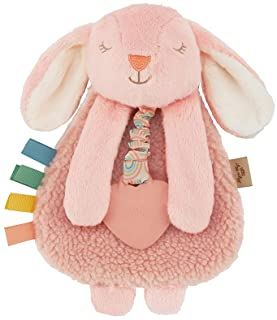 Itzy Ritzy - Itzy Lovey Including Teether, Textured Ribbons & Dangle Arms; Features Crinkle Sound, Sherpa Fabric and Minky...