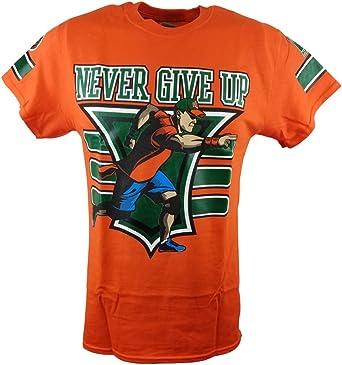 John Cena - Camiseta para hombre, color naranja