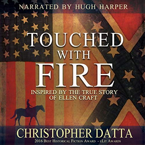 Touched with Fire audiobook cover art