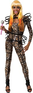 Costume Nicki Minaj Collection Leopard Print Catsuit With Hoops Costume