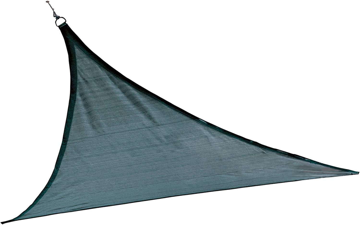 ShelterLogic Triangle Shade Sail, Sea bluee, 16 x 16 x 16 ft.