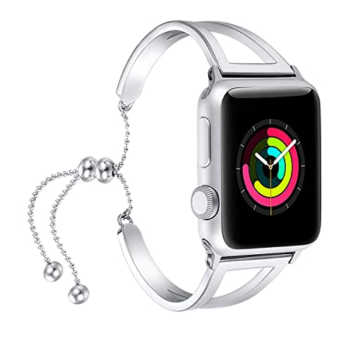 c080dd12c fastgo Bracelet Compatible for Apple Watch Band 38mm 40mm 42mm 44mm, 2018  Dressy Fancy Jewelry