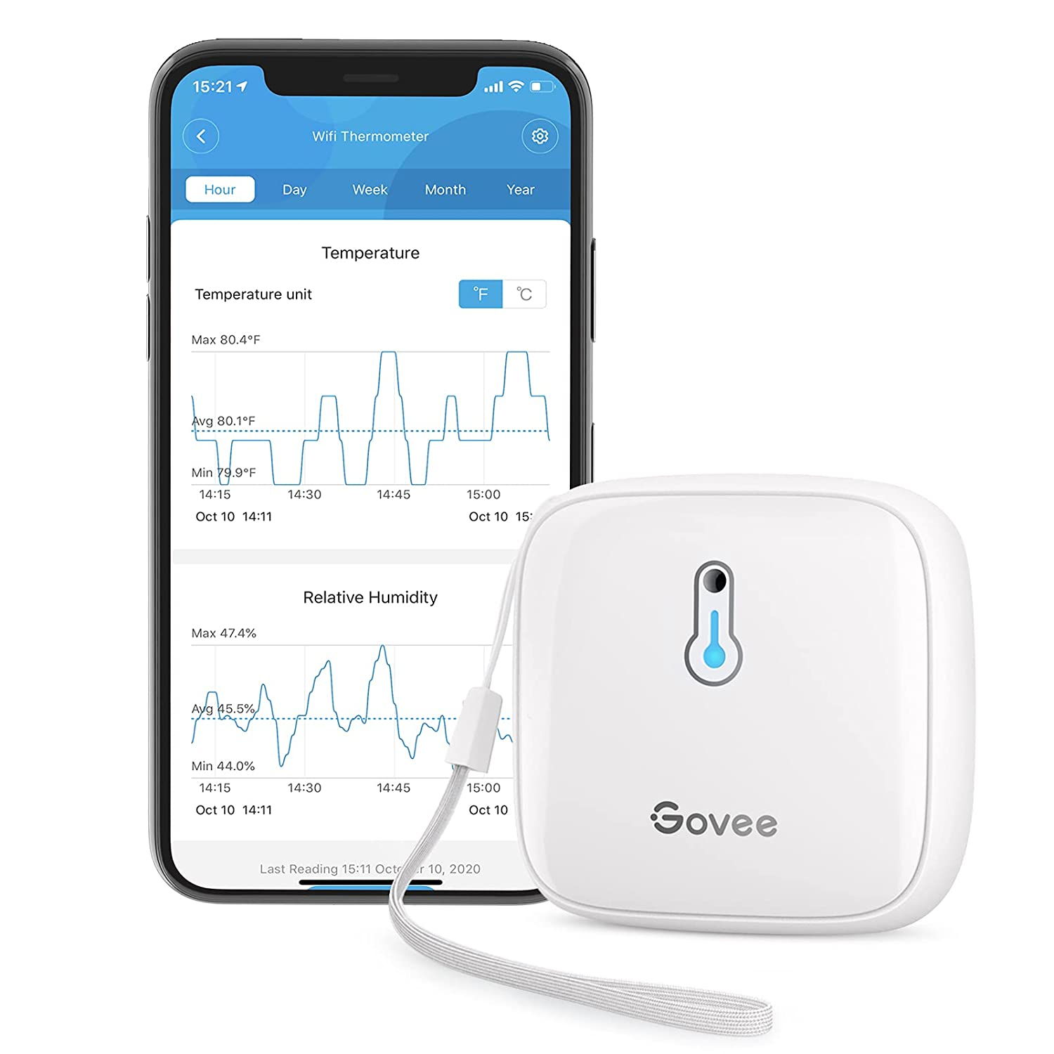 Govee 230ft  Bluetooth Hygrometer Thermometer $10.29 Coupon