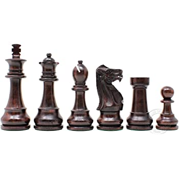 Columbus Park Chessmen /& Columbus Avenue Board from Spain Bello Games New York Inc. King 4 1//4