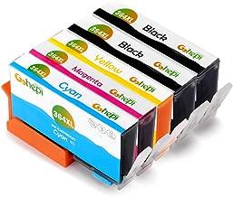 Gohepi 364XL Cartucce Compatibili HP 364 XL per HP Photosmart 5520 6520 5510 7510 6510,Premium C309g B010 B109a B110,HP Deskjet 3520 3070A ,HP Officejet 4620 4622 (2 Nero,1 Ciano,1 Magenta,1 Giallo)