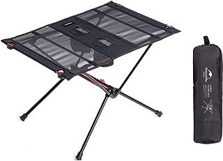 Naturehike アウトドアテーブル 折りたたみ キャンプ テーブル コンパクト 軽量 7075アルミ ピクニックテーブル バーベキュー ビーチ 登山 お釣り 食事テーブル 収納バッグ付 耐荷重30kg