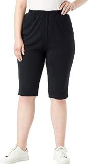 Women's Plus Size Soft Knit Bermuda Short