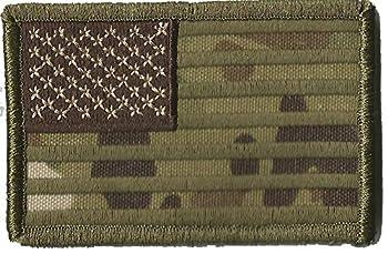 MULTICAM USA Tactical Patch - USA 2x3