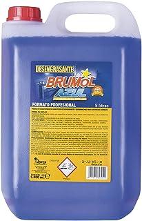 Brumol Desengrasante Azul - Paquete de 3 x 5000 ml - Total: