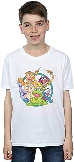Disney Niños The Muppets Group Circle Camiseta