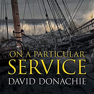 On a Particular Service audiobook cover art