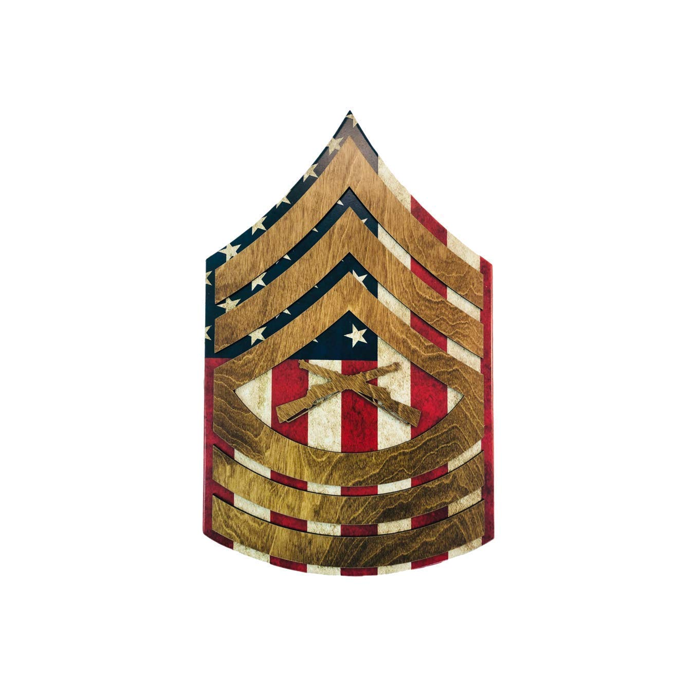 Marine Popular shop cheap is the lowest price challenge Corps Rank Wall Hanging E-8 - MSgt Raised Stripes