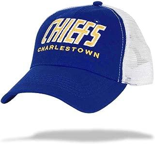 Slap Shot - Charlestown Chiefs Old Time Hockey Mesh Back Cap | Adjustable