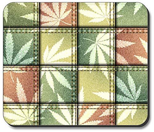 Art Plates Mauspad Maple Leaf Stoff Quadrate