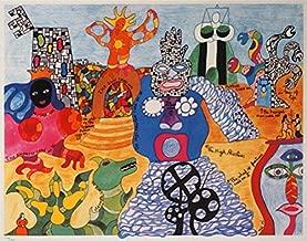 Niki de Saint Phalle postcard (Tarot Garden)