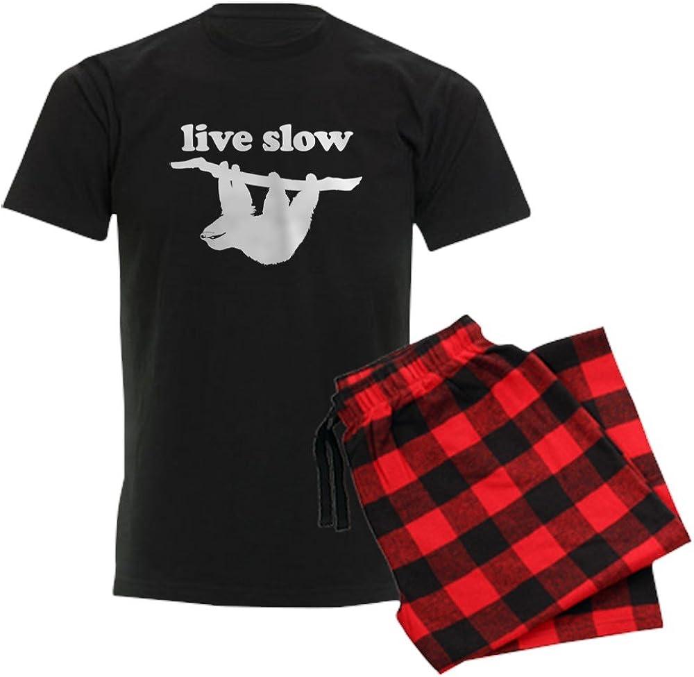 CafePress Live Slow Cash special price Sloth Pajama 35% OFF Set Pajamas