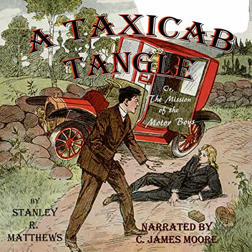 A Taxicab Tangle audiobook cover art
