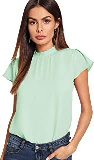 Best light green blouse Reviews