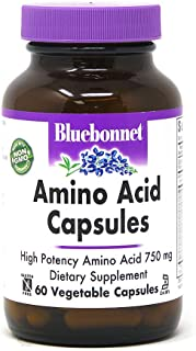 Bluebonnet Amino Acid Capsules 60 Vcaps