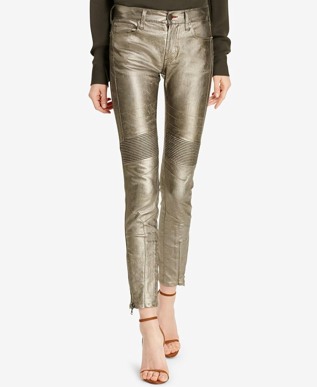 Ralph Lauren Womens Silver Skinny Jeans US Size  26 Waist