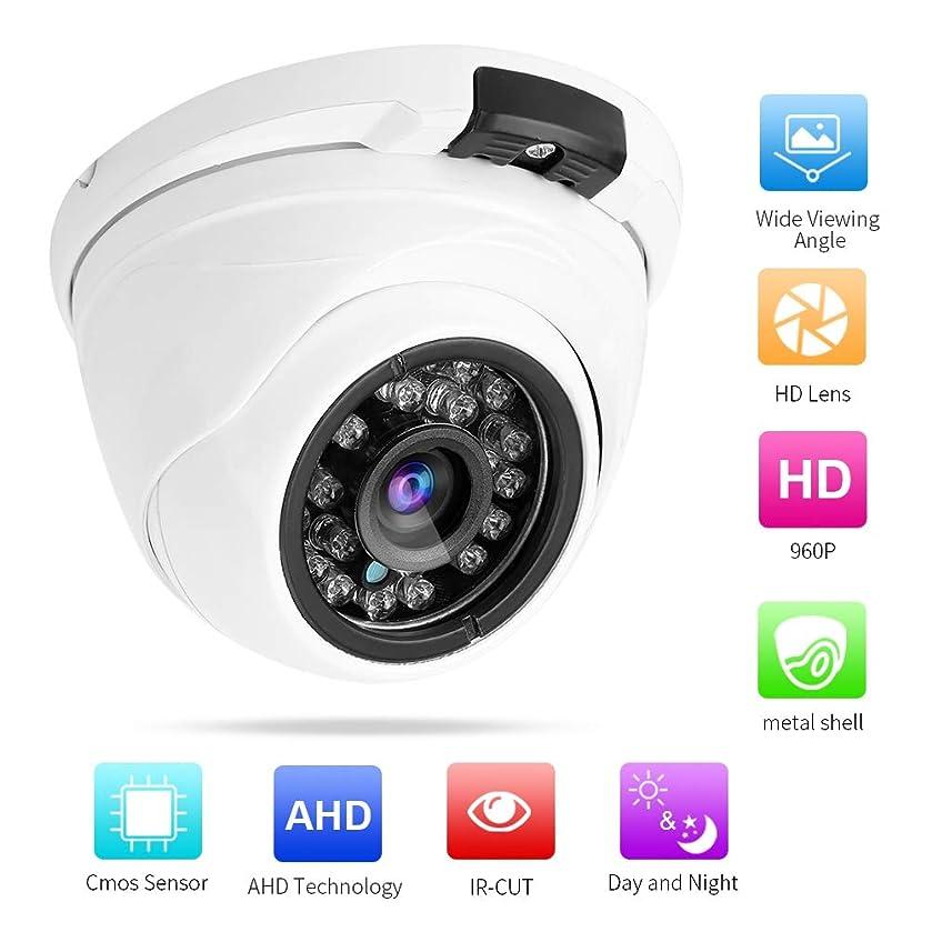 アパル緑ポインタ960P HDホームセキュリティカメラ、IP広角ドームカメラIRナイトビジョン、動き検出、金属製防水監視カメラリモートモニタリング(Android、IPhone、iPad)
