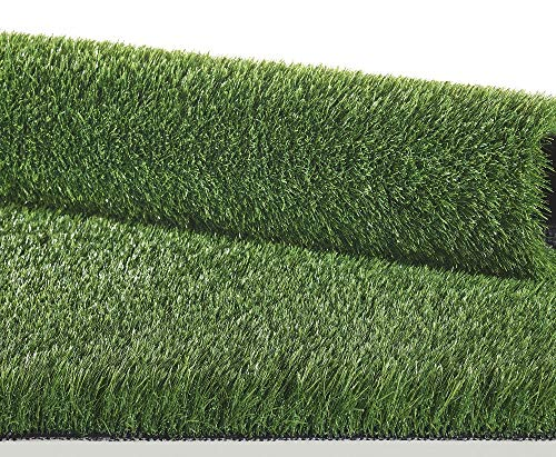 IlGruppone Prato Finto Erba Sintetica Verde Tappeto erboso drenante Esterno Giardino 4 cm - Verde - 2 x 5 m