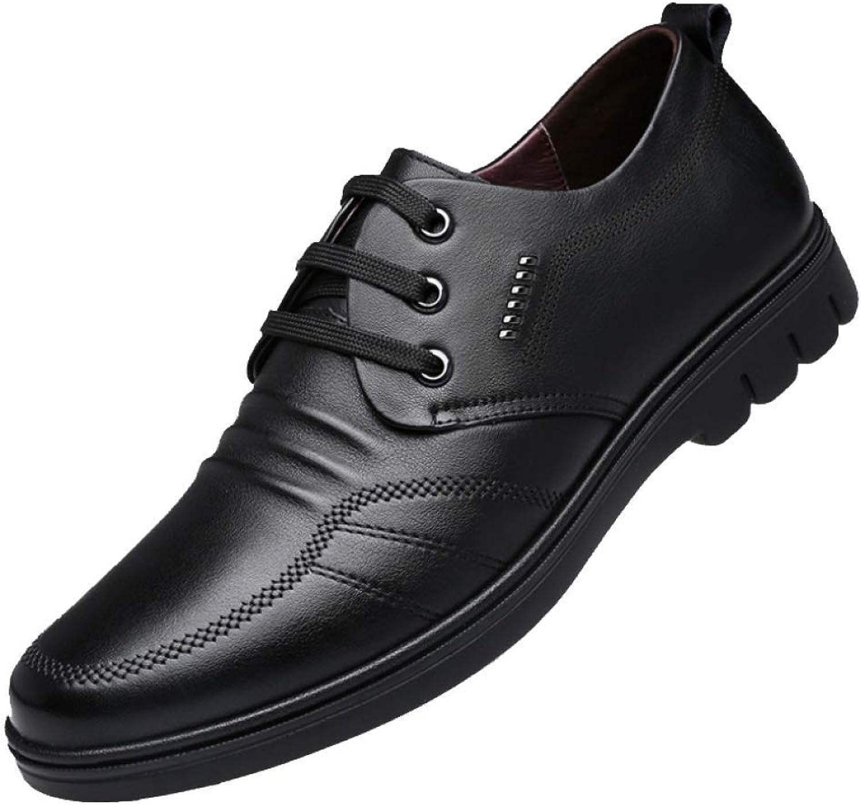 ZQZQ Chaussures en Cuir pour Hommes, Dentelle, Affaires, Décontracté, portable, Respirant