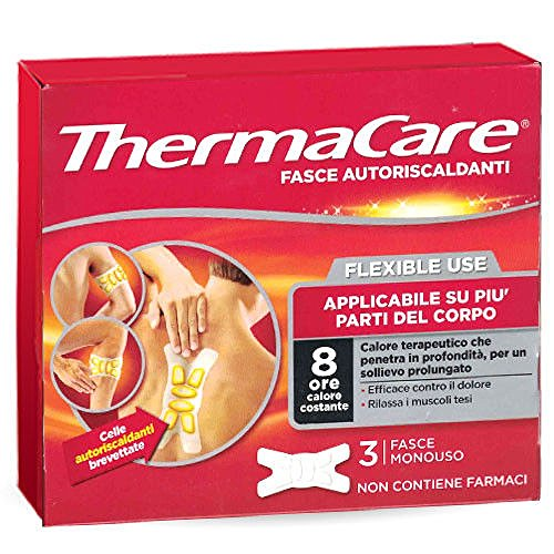Thermacare Flexible Bands 3 Self Heating