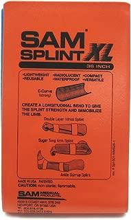 SAM Splint XL 36 Flatfold Orange/Blue by SAM Medical