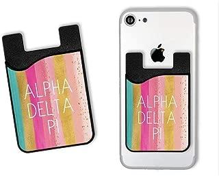 Alpha Delta Pi Bright Stripes Caddy Phone Wallet