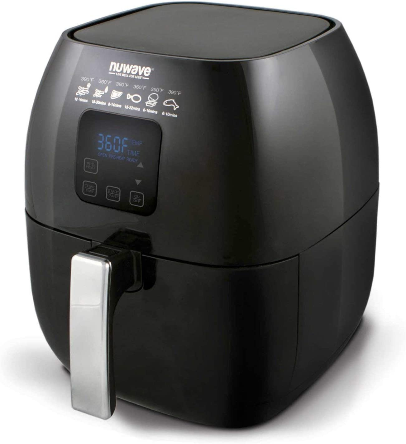 NuWave Versatile Brio Air Fryer with One-Touch Controls Digital Max 87% Sale special price OFF