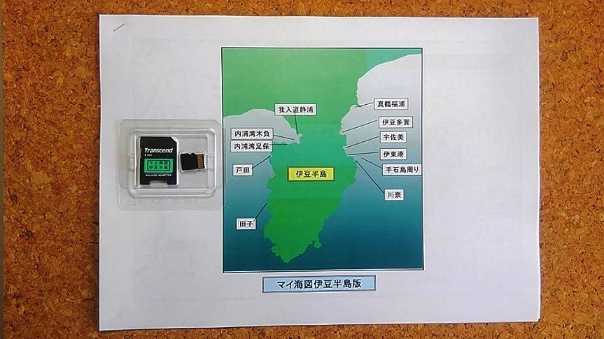 憎しみカウントアップキャビン新版 Lowrance GPS魚探 専用 デジタル マイ海図 ( 伊豆半島版 )