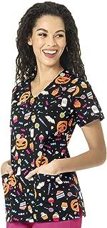 Chloe Women's Printed V-Neck Top
