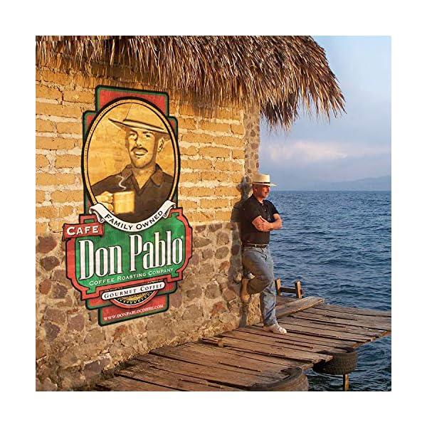 2LB Cafe Don Pablo Decaf Colombian Gourmet Whole Bean Coffee - Medium-Dark Roast
